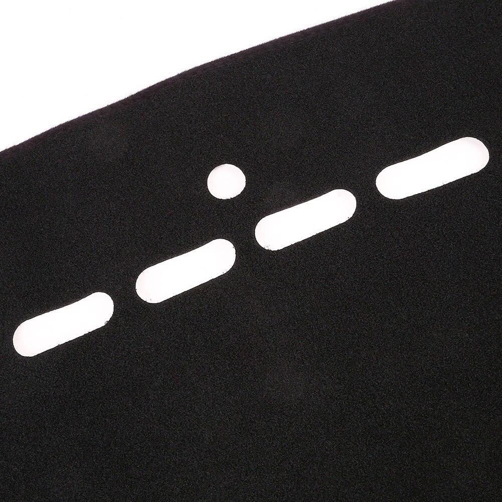 Vehemo незаметной силиконовой противоскользящей вставкой на приборной панели крышки Солнцезащитная Накладка для машины тире коврик авто Интерьер тире Запчасти приборной панели коврик черные тёмные очки
