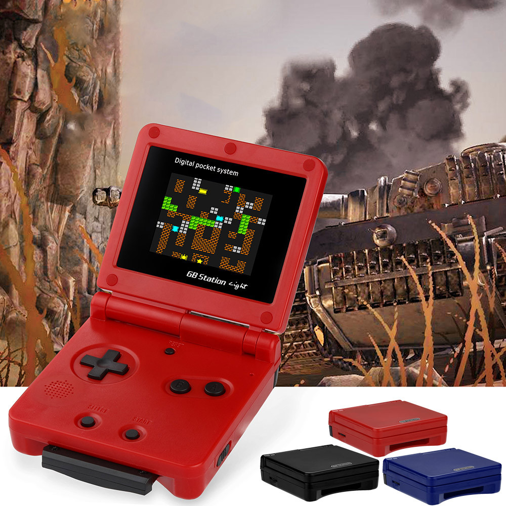 GB Station Mini Retro Handheld Video Game Console 50 Games Portable Game Player