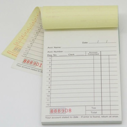 Popular Receipt Book PrintingBuy Cheap Receipt Book Printing lots – Print a Receipt Free