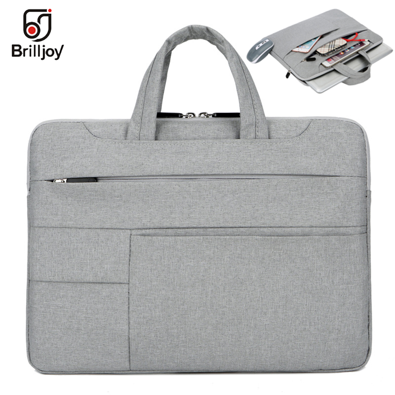 Brilljoy Ultra-thin Handbag For Dell Asus Lenovo HP Acer Computer Laptop Bag Briefcase11 12 13 14 15inch For Macbook Air Pro Bag