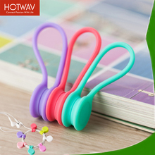 HOTWAV Cable Organizer Multi Functional Magnet Earphone Cable Winder Desktop Cable Holder Mini Winder For Wires