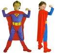 Crianças de Halloween superman traje do menino e menina herói super fan roupas cosplay traje do partido do miúdo das bruxas férias