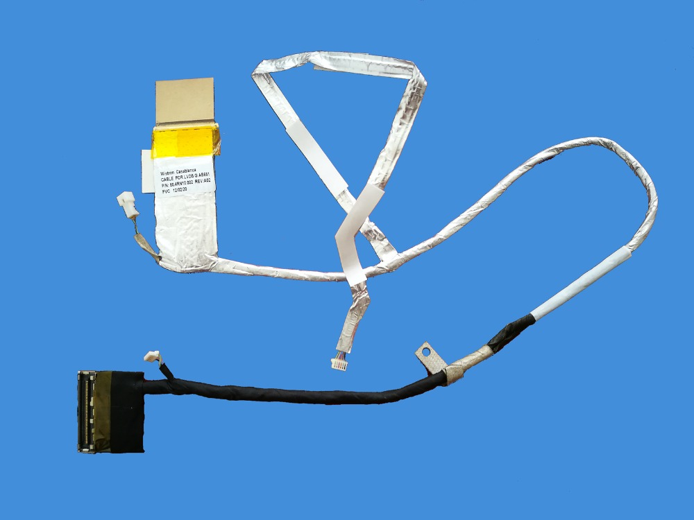 New LCD Cable For HP Pavilion DV6-6000 DV6-6XXX Dv6-6195ca DV6-6c35dx DV6-6135 DV6-6137 50.4RH02.002 Video Flex Screen LVDS