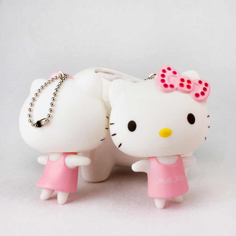 Bonito hello kitty keychain, presente para o amante, presente do dia dos namorados, kawaii chaveiros, chaveiro de carro, saco pandent