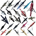 9ps/LotVariety of stainless steel arrow broadheads for hunting and archery  Apply to composite bow and crossbows and recoil
