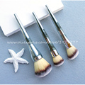 Marca Nueva Contour Colorete Kabuki kit de Pinceles de Maquillaje Profesional Ulta todo de 211 Impecable Rubor En Polvo de Color Plata