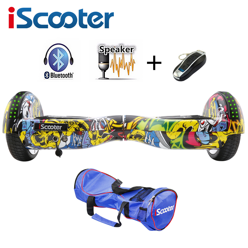 Hoverboards Scooter Oxboard Auto Équilibre Hoverboard électrique Monocycle Par-Dessus Bord Gyroscooter Planche À Roulettes Deux Roues Hoverboard