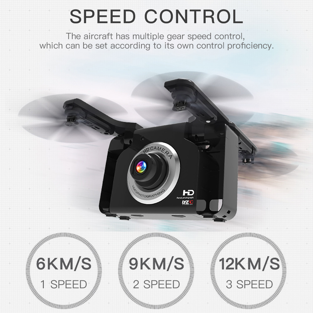 L600 Drone WiFi 720P Wide-Angle HD Camera 2.4GHz 6 Axis RC Helicopter RC Quadcopter Speed Control Selfie Drone with Camera HD
