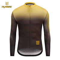 YKYWBIKE Long Sleeve Cycling Jerseys 2018 Men Bike Sportswear High Quality Cycling Clothing Bicycle Shirts Maillot