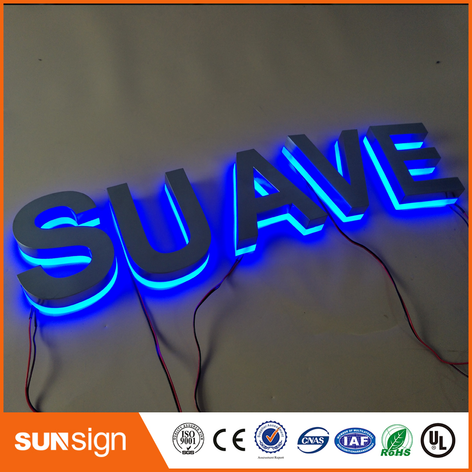 LED Letras Iluminada 3d Led Sign Light Letter,Custom High Brightness Letters Led Light For Advertising