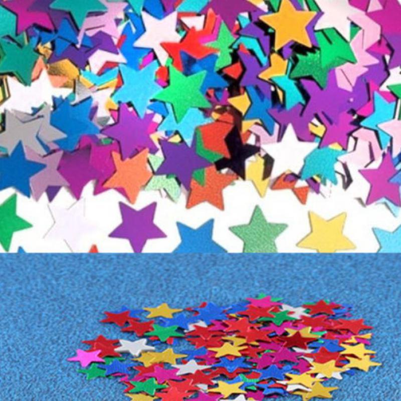 casamento Sparkle STAR Pulmad Confetti Laua kaunistused sobivad - Pühad ja peod - Foto 5