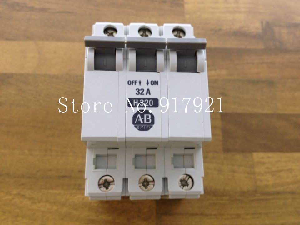 [ZOB] The United States Allen-Bradley Rockwell AB H320 import 3P32A air switch --2PCS/LOT [zob] united states crydom qantas cmd24125 10 import 125a120 240v3 32v solid state relay 2pcs lot