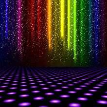 Luzes Do Palco Colorido A Laser da broadway Fundos Vinil pano de Computador impresso backdrops partido Alta qualidade