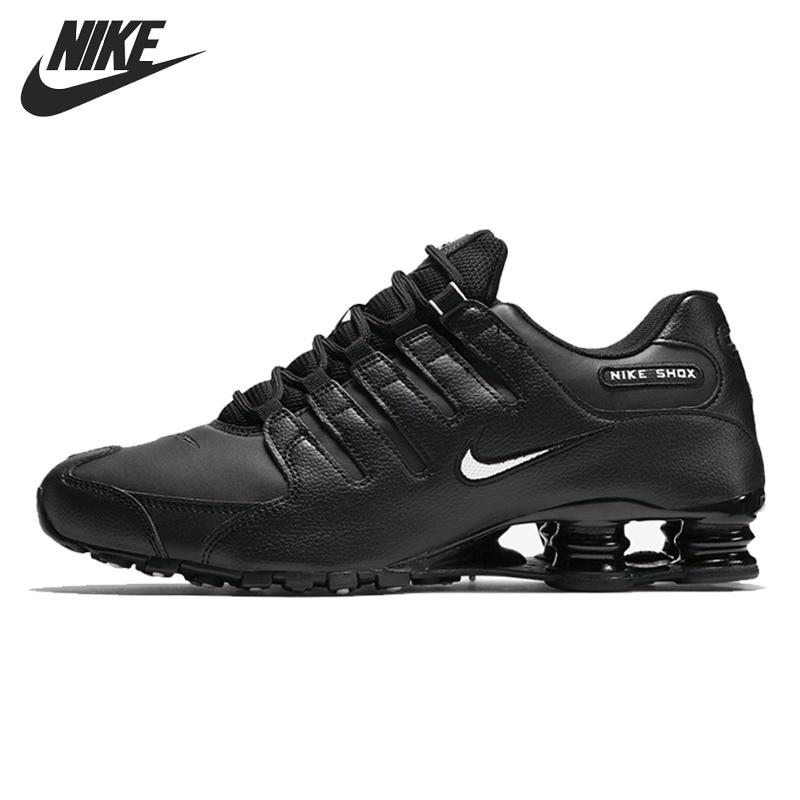 Original Nouvelle Arrivée 2018 NIKE SHOX NZ UE Hommes de Chaussures de Course Sneakers