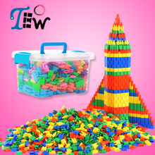 40+30+20+10pcs Fashion Plastic Bullet Building Blocks Kids Baby Educational Toys for Boys and Girls Children Christmas Gift 172 цены