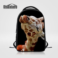 Dispalang Mochila Men Backpack For Women Casual Travel Bag Giraffe Animal Print Laptop Backpack Large School