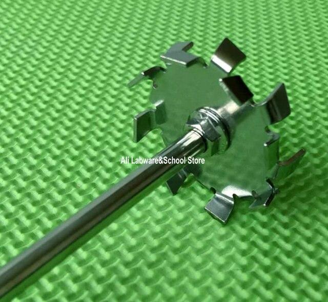 Дисперсионная пластина из нержавеющей стали, дисперсионная машина лезвие с агитирующим стержнем для перемешивания 1 шт.