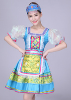 girls Russia dance Dress Children Girls Kids Party Dress performance Costume
