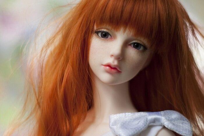 HeHeBJD 1/3 schöne mädchen Audrey freies augen harz modell hohe qualität spielzeug-in Puppen aus Spielzeug und Hobbys bei  Gruppe 1