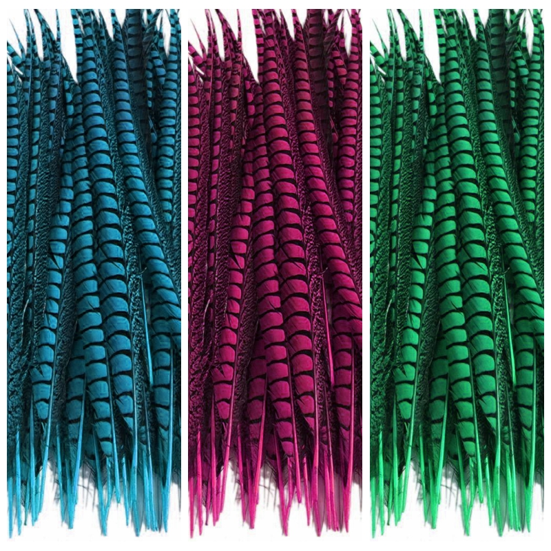 Venta al por mayor 100 pzas/unids/lote 12 14 pulgadas 30 35cm señora Amherst faisán cola plumas boda decoraciones faisán Natural plumas de pluma-in Pluma from Hogar y Mascotas    1