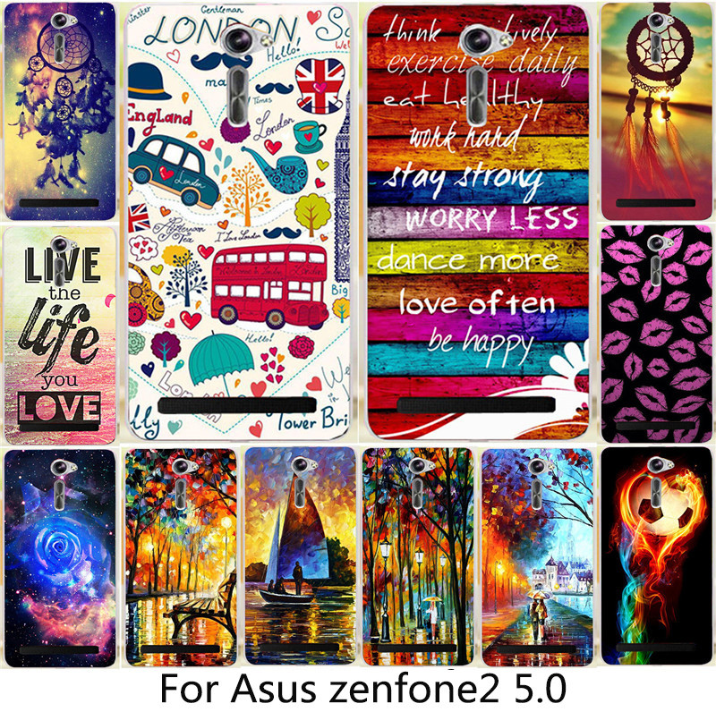 81aab751d High quality Painted Dreamchatcher Happy London Lips PC phone case ...