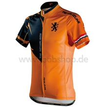 2016 new men flanders short sleeve orange cycling jersey cool bike clothing ride tops novelty cycling gear