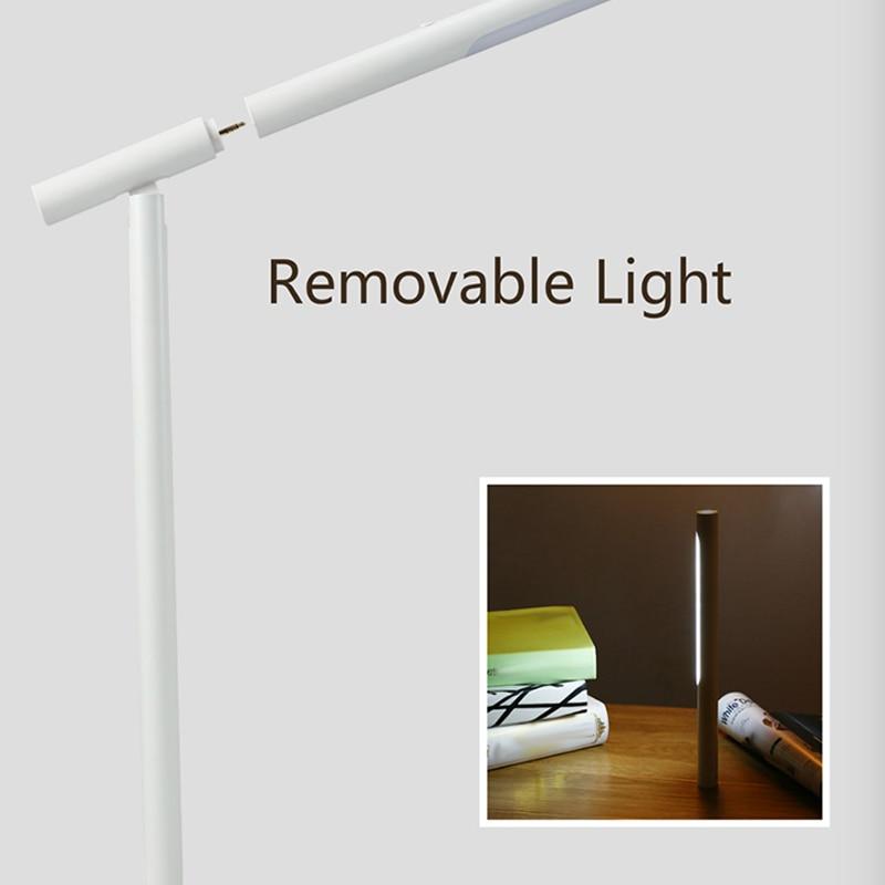 Chargeur sans fil lampe à LED réglable Rotation lampe de Table lampe de poche touche contrôle JDH99