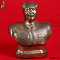 Statue Wool Decoration Copper Chairman