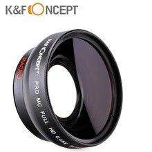 Nueva 52mm 0.45x lente gran angular hd multi-revestido para nikon d5000 d5100 d3100 d7000 d3200 d80 d90 envío gratis