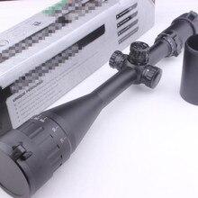 Армейский Военный Воздушный пистолет прицел 6-24X50 Полный размер AO Mil-dot RGB нулевой замок/Сброс оптики прицел