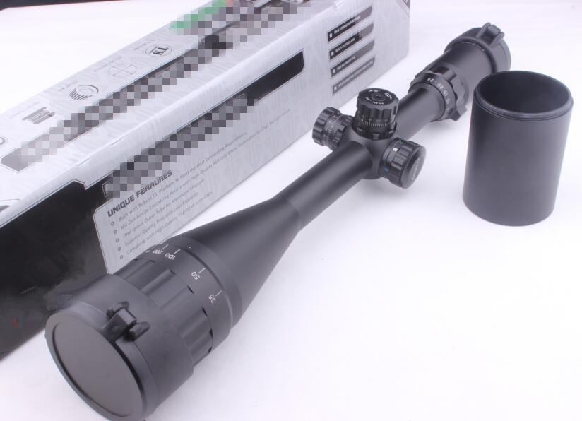 New Army Military Air Gun Rifle scope 6-24X50 Full Size AO Mil-dot RGB Zero Locking/Resetting optics Rifle Scope leapers 6 24x50 aol hunting scope optics riflescope mil dot locking resetting rifle scope for rifle air guns reflex sight