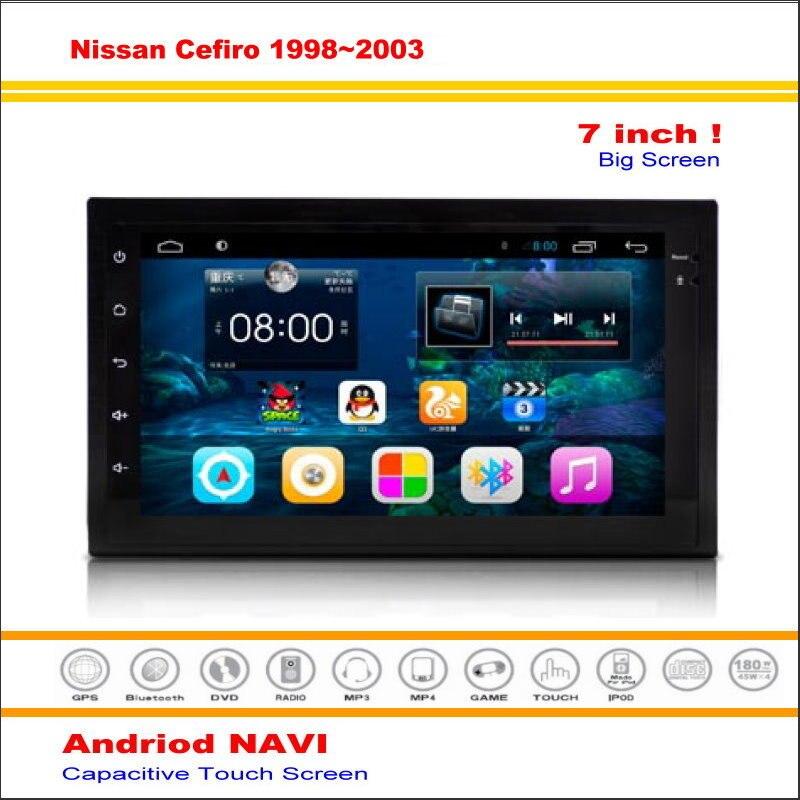 Android Sistema de Navegación GPS NAVI del coche Para Nissan Cefiro/Maxima/Maxim