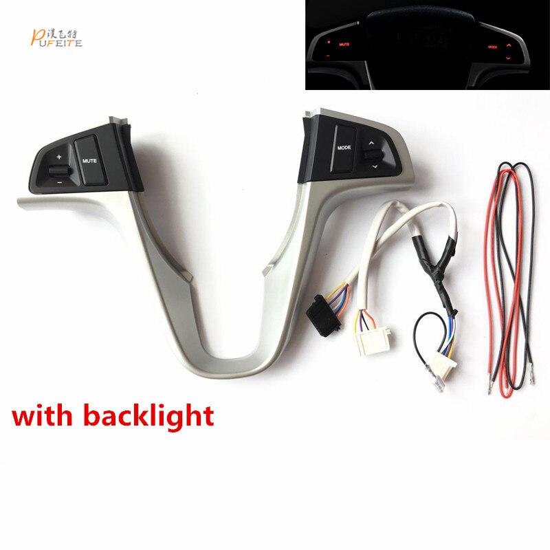 Lenkrad Audio Switch Control Tasten Für Hyundai VERNA SOLARIS Multi-funktion Lenkrad Audio Control Tasten