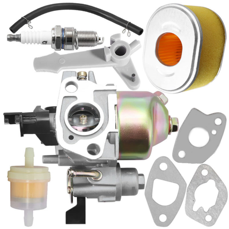 9pcs/set Carburetor Kit For Honda GX160 5.5HP GX200 Engine Air Filter Spark Plug Carb Kit Lawn Mower Parts & Accessories|Tool Parts| |  - title=