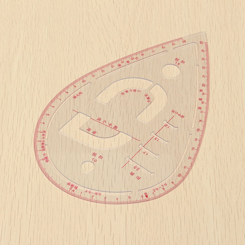 French Ship Curves Drawing Drafting Template Stencil 245 mm