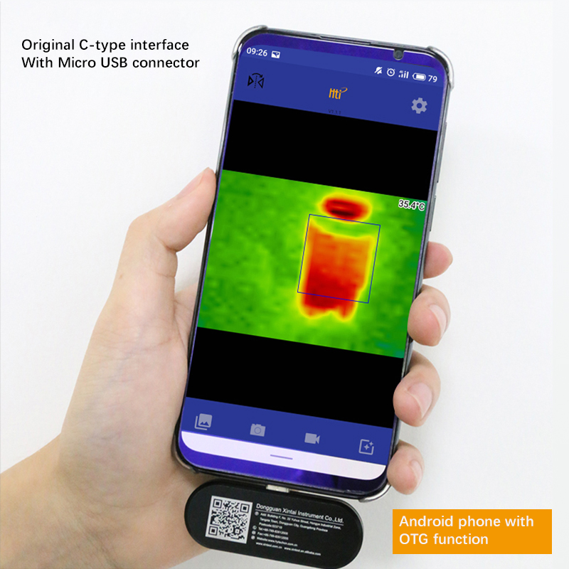 New Thermal Imaging Camera infrared imager Night vision FLIR ONE PRO Gen 3 Use for iphone ipad iOS or Android or Type C Dropship - 4