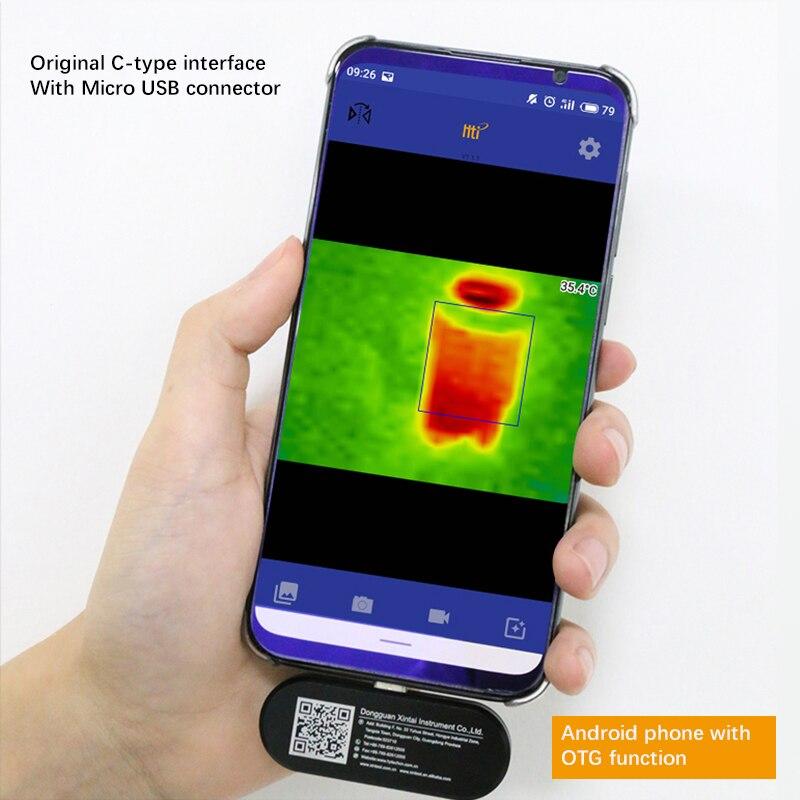 Nieuwe Thermische Imaging Camera infrarood imager nachtzicht FLIR EEN PRO Gen 3 Gebruik voor iphone ipad iOS of Android of type C Dropship - 4