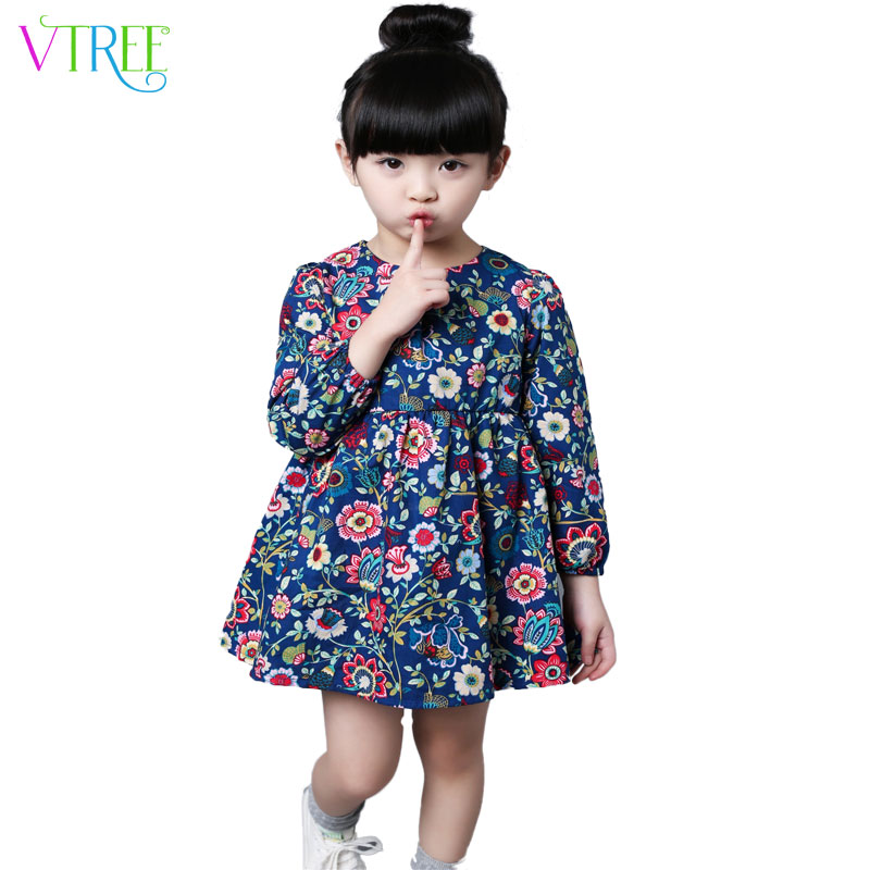 Aliexpress.com : Buy 2016 spring long sleeve dresses for girls ...