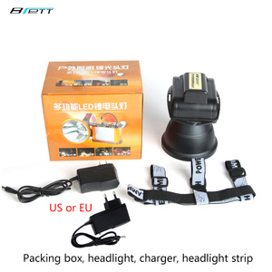 Image 5 - Led head lamp Flashlight Cree xhp70.2 or L2 light 50W Chip 6000 Lumens Direct charging Outdoor Waterproof Bicycle led headlight