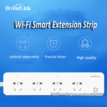 BroadLink MP1 Socket Plug WiFi Power Remote Control 4-Outlet Power Socket for Smart Home Automation System