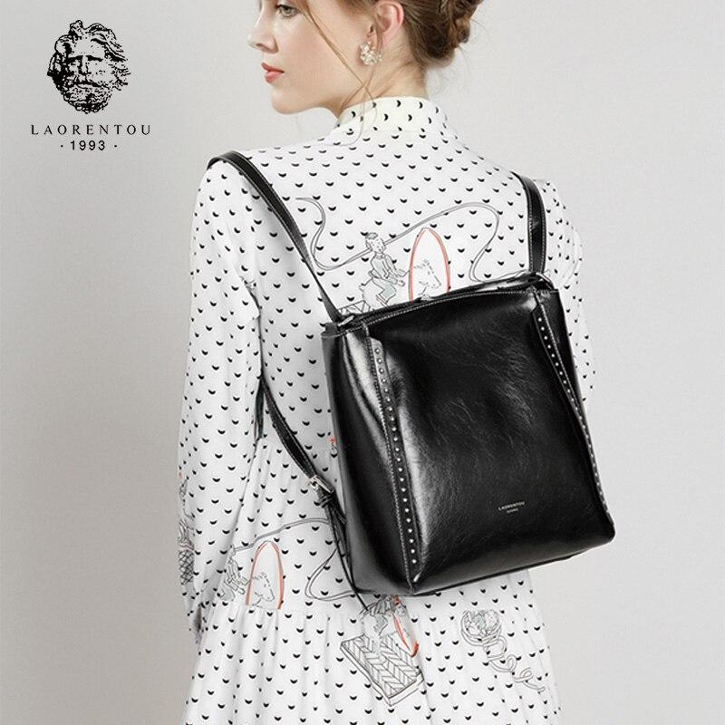 LAORENTOU marque Lady haute qualité femme vendu rétro sacs à bandoulière pour filles femmes sacs à bandoulière femme grande capacité cartables