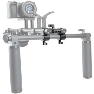 Image 5 - NICEYRIG зажим DSLR 15 мм, стержень, двойной в один, 90 градусов, Railblock для видеокамеры, камеры DV/DC, плечевая опора, система поддержки