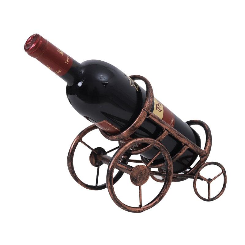 Дома Кухня Бар Декор ручной покрытие Винные стеллажи практичный держатель вина Бутылочки Декор Дисплей полки Стойки