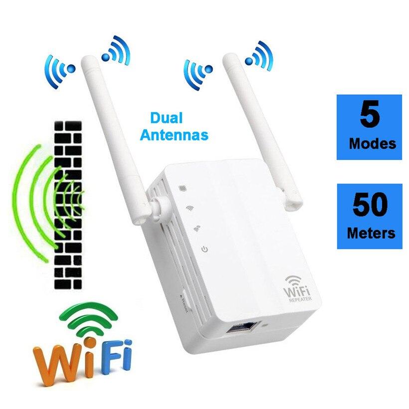 Расширенный Новинка 2017 года Сетевое оборудование продуктов маршрутизатор 300 Мбит/с Беспроводной-n Range Extender Wi-Fi ретранслятор усилитель сигна...