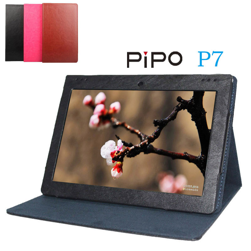 Original For PiPo P7 Case Flip Utra Thin Leather Case For PiPo P7 Cover 9.4 New Tablet PC For PiPo P7 Shell Skin In Stock for iphone 7 4 7 inch 0 3mm hard pc shell cover case yellow