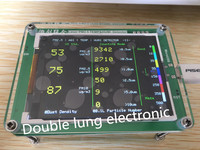 Household PM2 5 Detector Air Quality Monitoring PM2 5 Dust Haze Measuring Sensor TFT LCD M1
