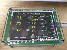 Ménage PM2.5 M5 version qualité de l'air détecteur surveillance PM2.5 brume de poussière de mesure capteur TFT LCD