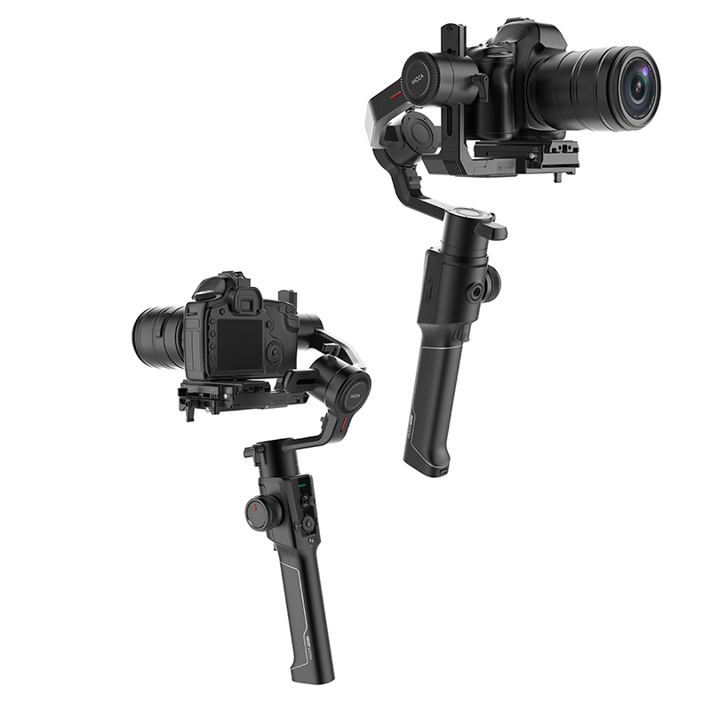 цена на Moza Air 2 Maxload 4.2KG DSLR SLR Mini Video Camera Stabilizer 4 Axis Handheld Gimbal for Sony Canon Nikon with 3/8 1/4 Screw