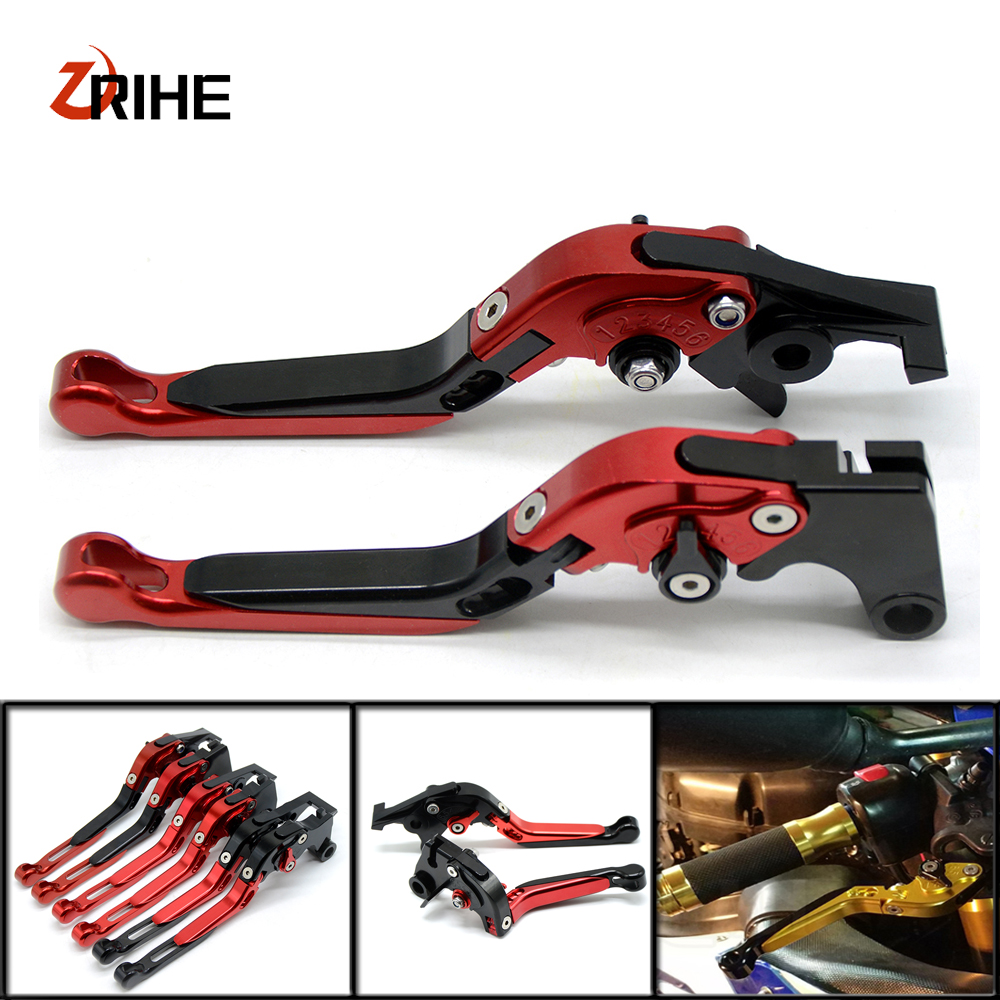 For yamaha fz6r 2009-2015 FZ8 2011-2015 MT-07 mt07 2014-2016 CNC Motorcycle adjustable foldable extendable brake clutch levers