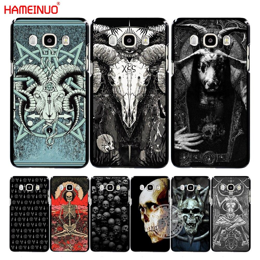 HAMEINUO satanic scary skull cover phone case for Samsung Galaxy J1 J2 J3 J5 J7 MINI ACE 2016 2015